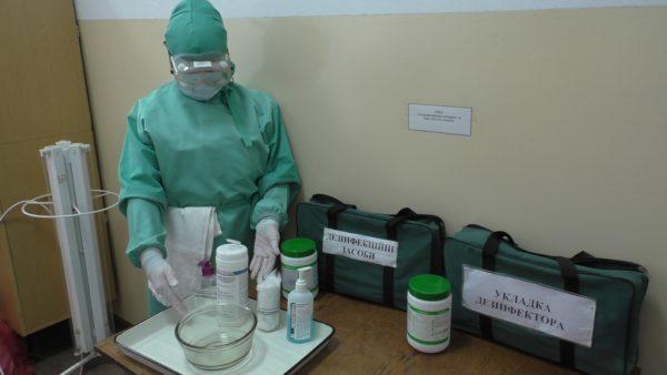 В области отработали действия в случаи выявления у человека коронавируса