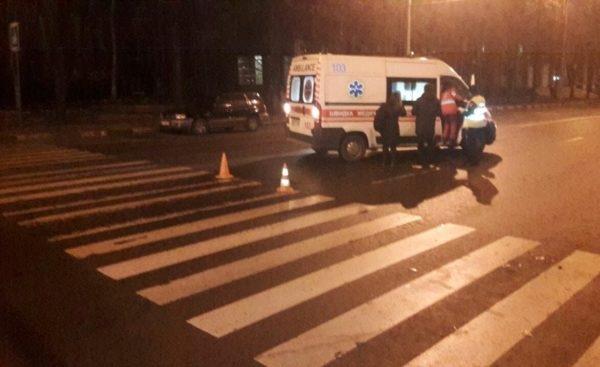 Возле «Ники» на пешеходном переходе сбили александрийца