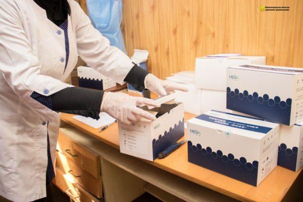 Кировоградская область получила средства индивидуальной защиты для медиков