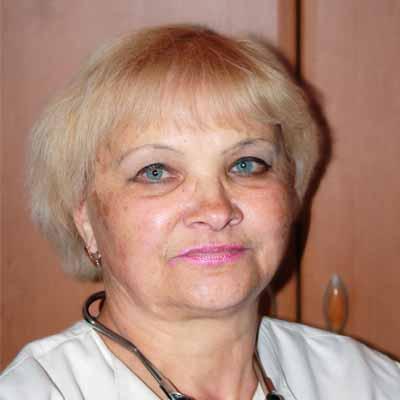 Семейный врач (терапевт) Бондаренко Татьяна Петровна