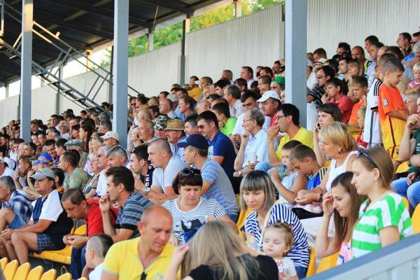 На футбольный матч в Александрии пустят зрителей
