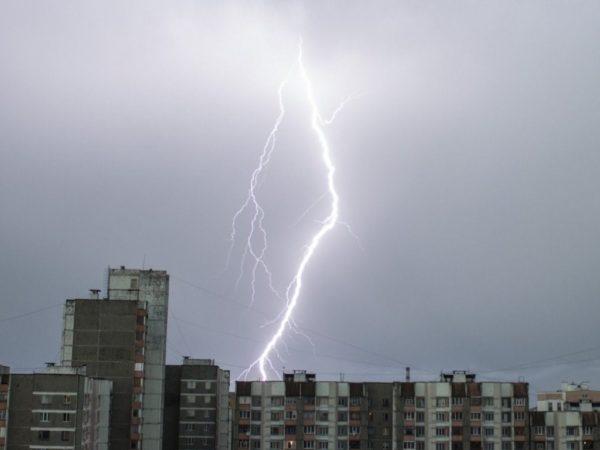 Штормовое предупреждение на территории Кировоградской области