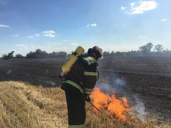 Мужчина получил ожоги и отравление угарным газом, пытаясь потушить пожар