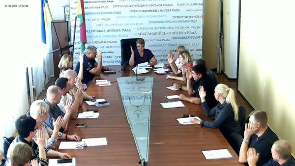 В Александрии зарегистрировали первых трех кандидатов в мэры