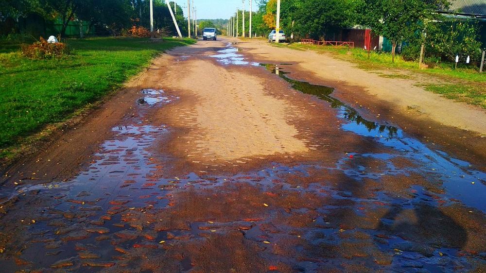 По Кременчугской улице 2 дня из-под земли течет вода. Водоканал не реагирует