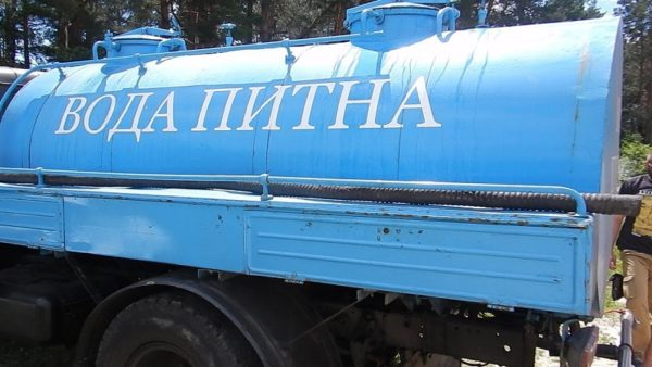 В Александрии будут подвозить питьевую воду (ГРАФИК)