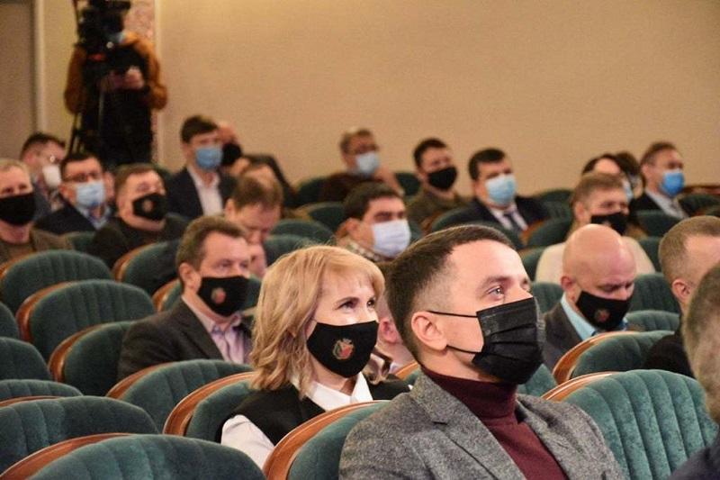 Состоялась первая сессия Александрийского городского совета 8 созыва
