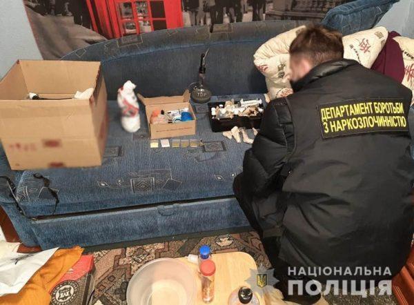 В Александрии полицейские обнаружили нарколабораторию (ФОТО)
