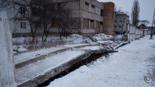 Александрийские полицейские прокомментировали ДТП, в котором автобус снес забор (ФОТО/ВИДЕО)