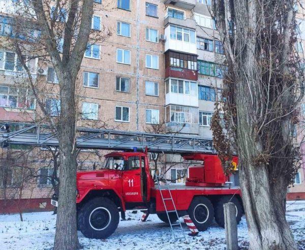 В горящей квартире на 6-го Декабря спасатели обнаружили тело 49-летнего александрийца
