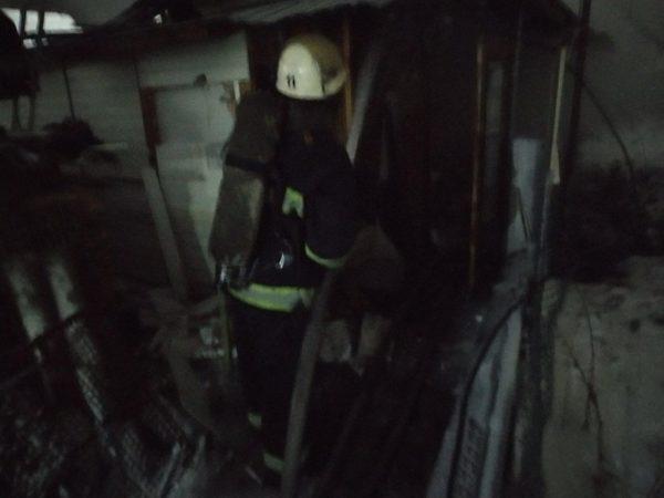 В Александрии горела крыша жилого дома