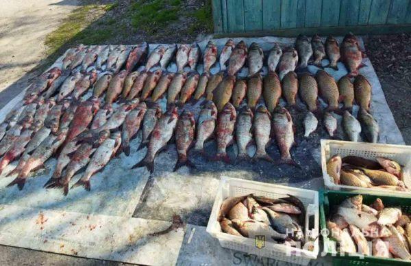 Александрийские полицейские задержали рыбака, который незаконно выловил 36 кг рыбы (ФОТО)