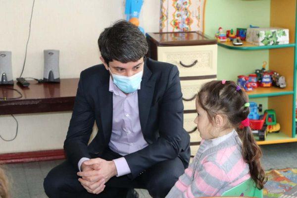Сергей Кузьменко с рабочим визитом посетил гимназию и детский сад №25 в Покровском микрорайоне (ФОТО)
