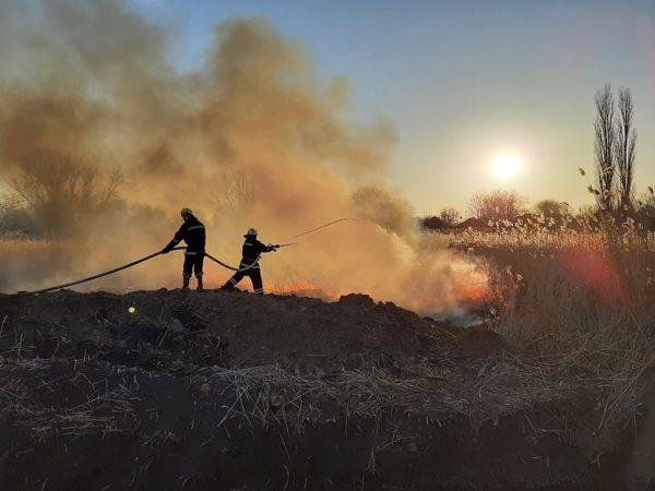 За прошедшие сутки александрийские спасатели потушили 4 пожара (ФОТО)