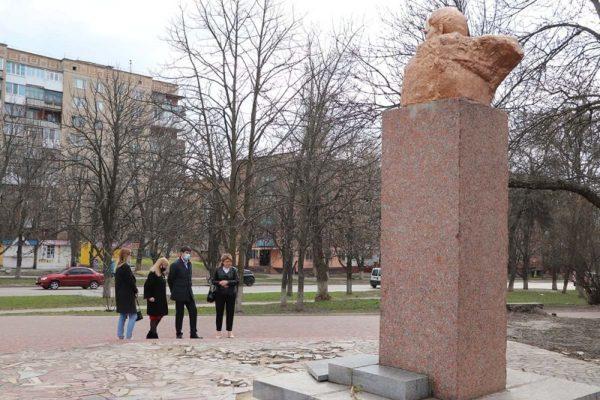 В Александрии возле памятника Тарасу Шевченко планируют обустроить сквер
