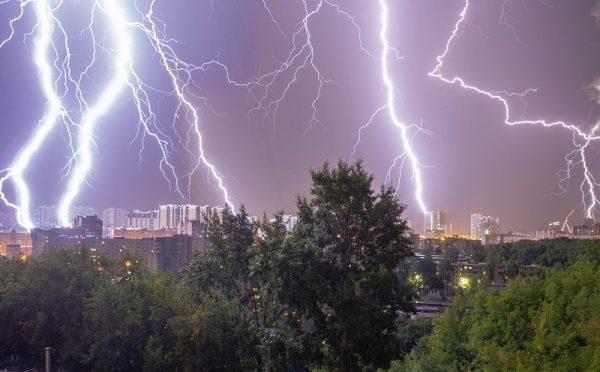 На территории Кировоградской области прогнозируют дожди и грозы