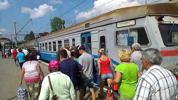 С 1 июля восстановлено движение электропоезда «Александрия-Помошная» (РАСПИСАНИЕ)