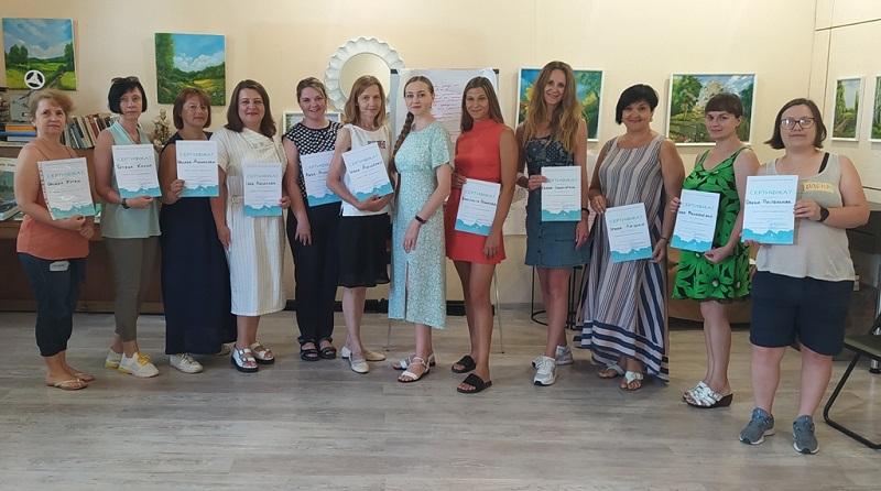 Около 100 человек прошли обучение на тренингах в Александрии (ФОТО)