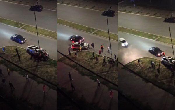 Женщина, врезавшаяся на «Инфинити» в столб, утверждает, что ехала 30 км/час и ее подрезали